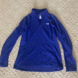 Royal Blue North Face Fleece Jacket (Youth M)